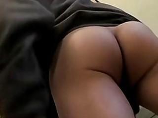 Skinny straight guy jerks off his huge cock until he cums