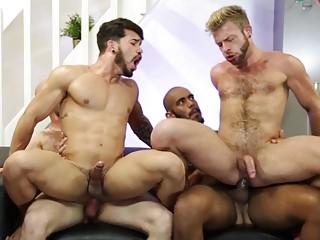 Pietro Duarte, Louis Ricaute, Gabriel Phoenix and Orson Deane