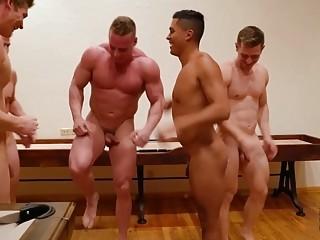Hardcore gay sex in a hideaway Wyoming cabin