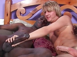 Surfer slut gets his first black wang