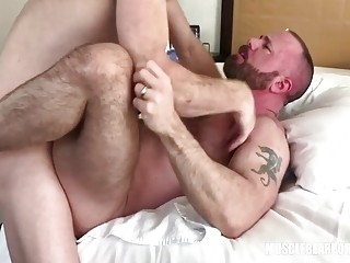 Gay cub gets to breed his daddy