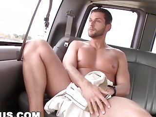 Straight guy is only momentarily shocked before anal sex