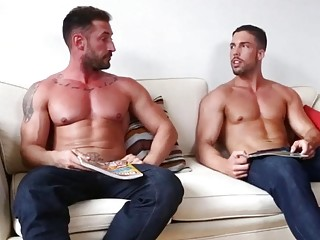 Emilio and Ronnie are just two buddies jerking off