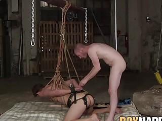 BDSM twink hot rough submissive torment